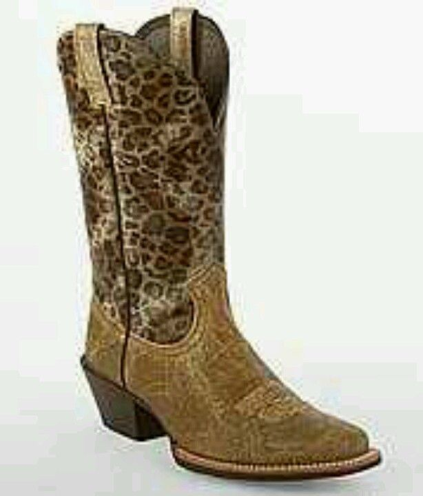 ba87e9d5930 Ariat Legend Leopard Western Boot, cute! | Shoes are my obsession ...