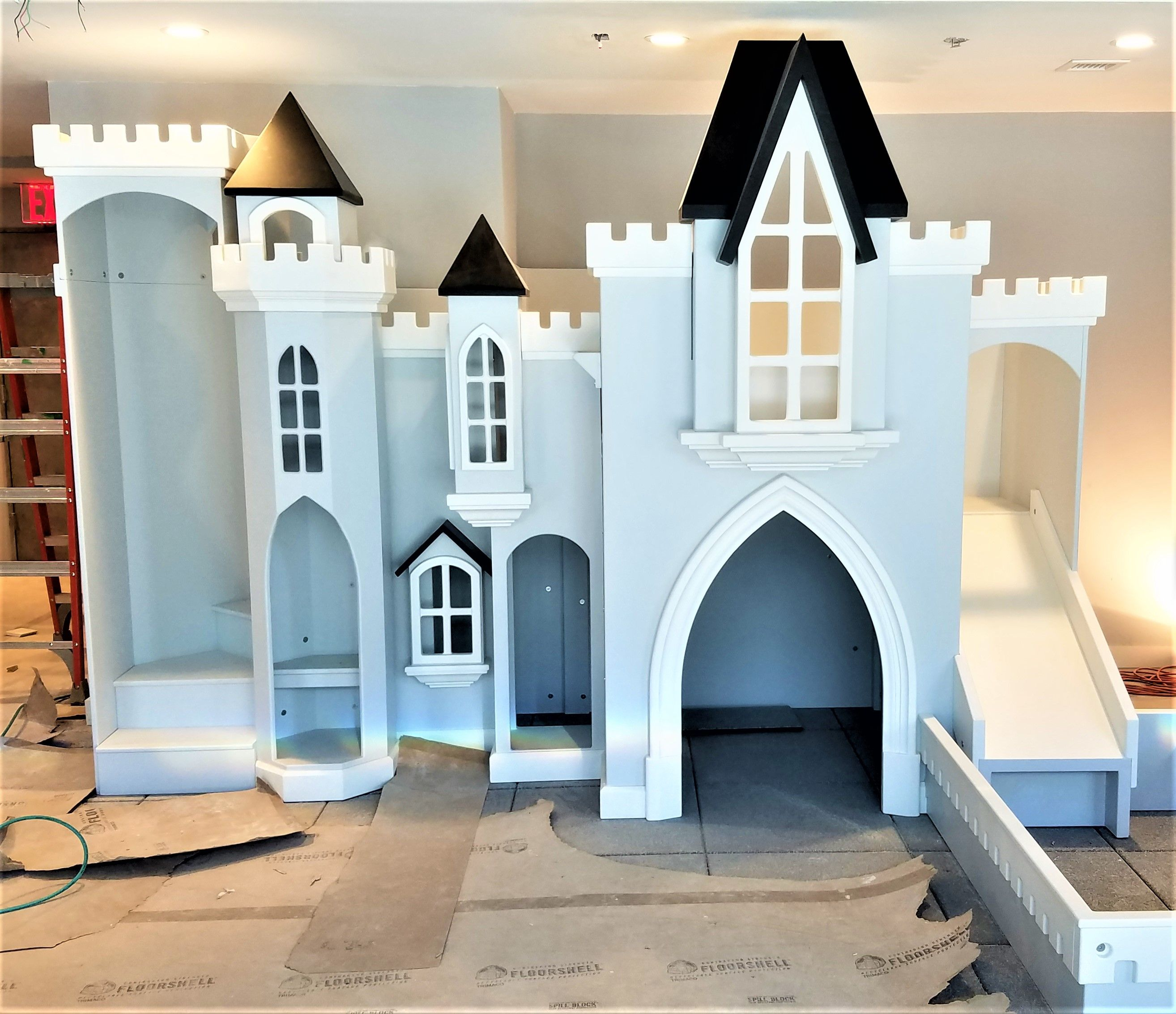 This Custom Castle Playhouse Is Called Sky View Castle It