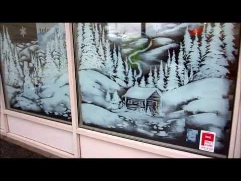 7 Christmas Window Art Ideas Window Art Christmas Window Christmas Window Painting