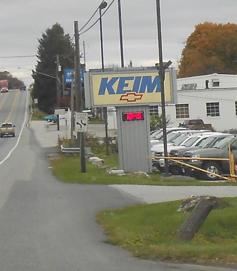 Keim Chevrolet Lincoln Highway Paradise Pa Pennsylvania