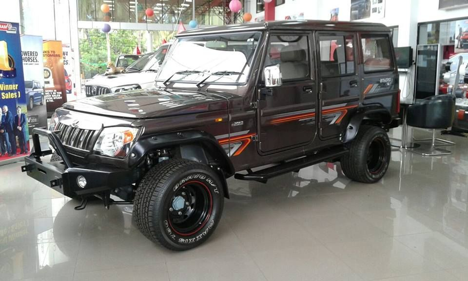 Modified Mahindra Bolero Spied At A Dealership Bolero Modified