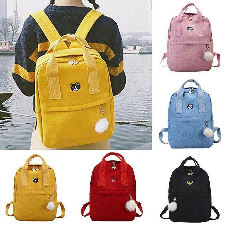Canvas Travel Bookbags School Bags