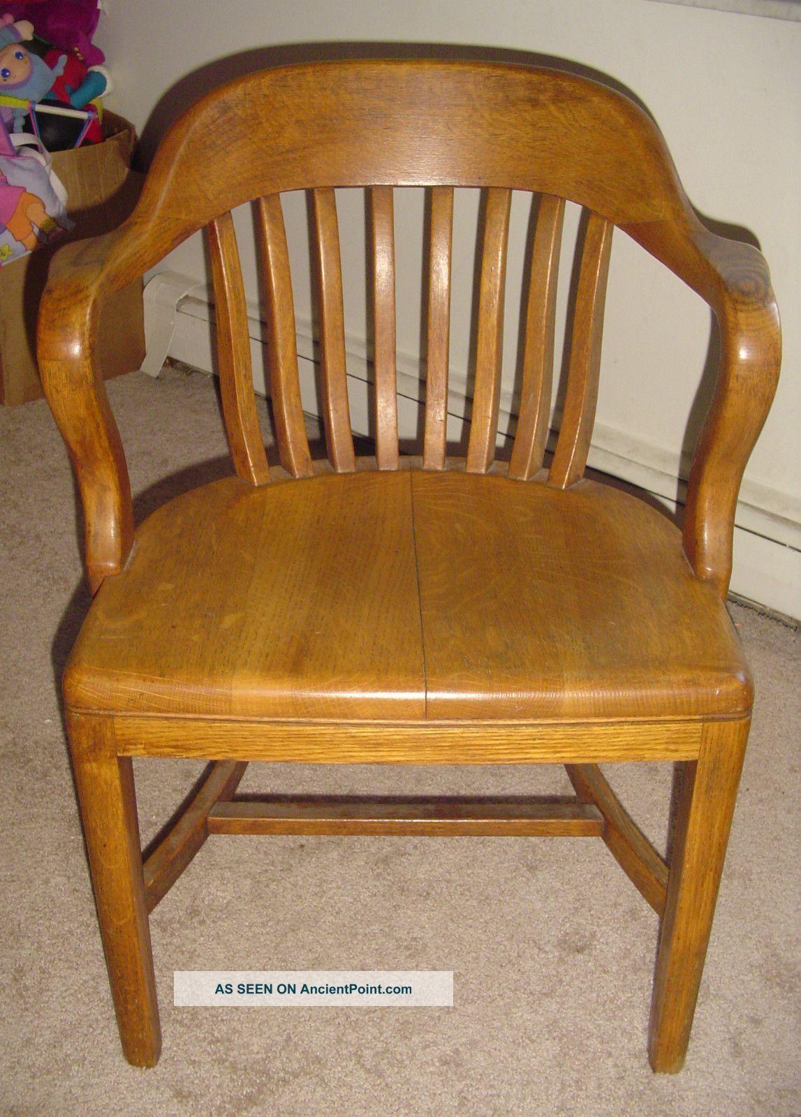 Antique bankers desk chair devintavern pinterest desks