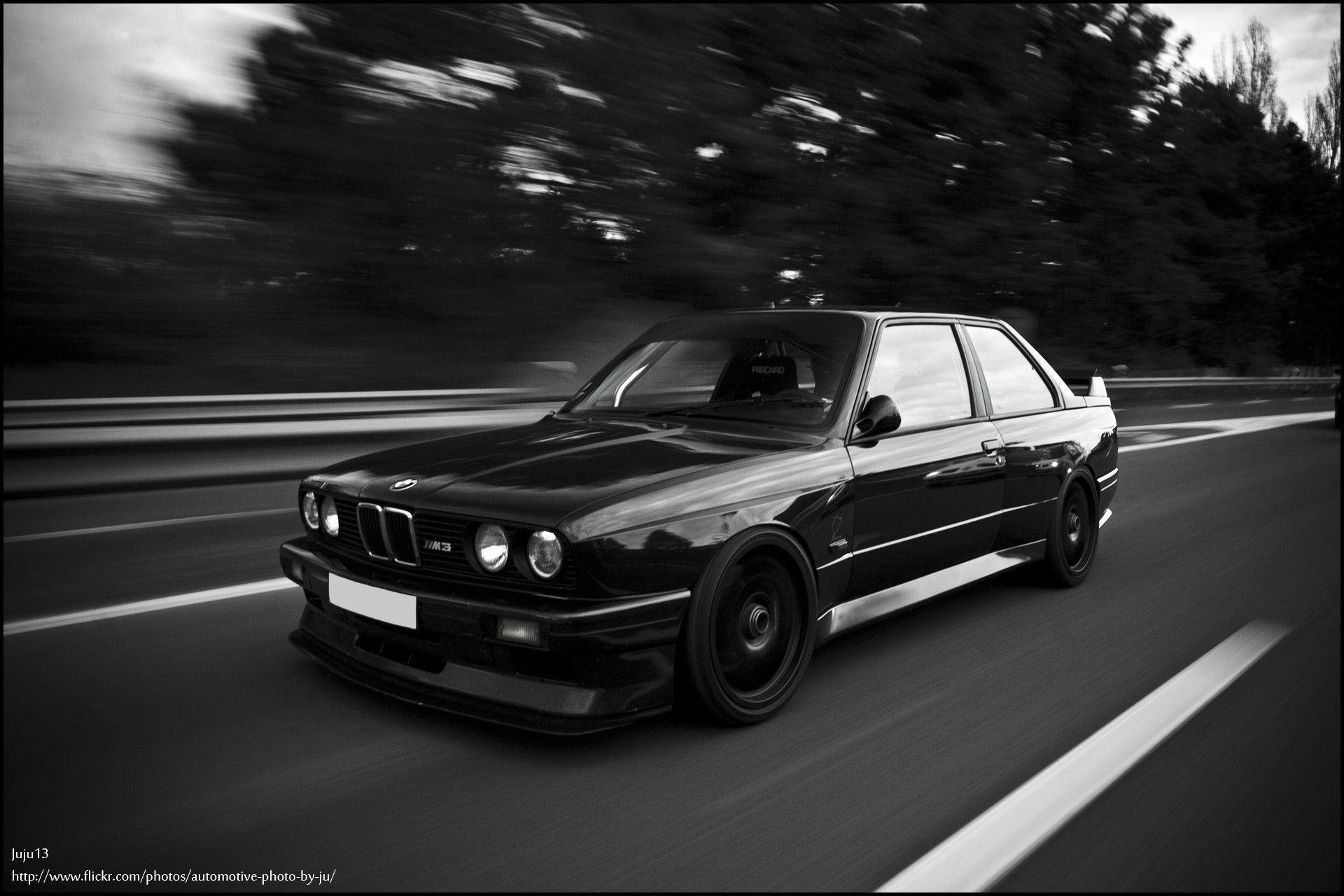 Bmw e30 m3 black and white (1920x1280, e30, black, white)  via www.allwallpaper.in