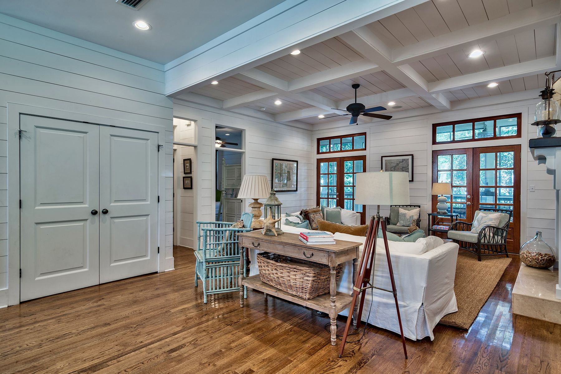 coastal living room in watercolor florida scenic sotheby s
