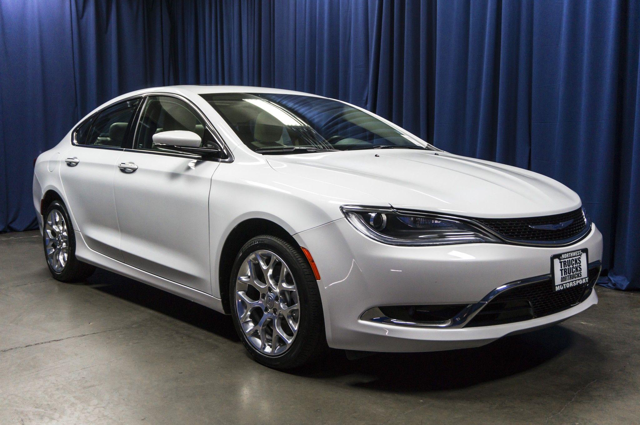 2015 Chrysler 200 C Rwd Chrysler 200 Chrysler Sedan