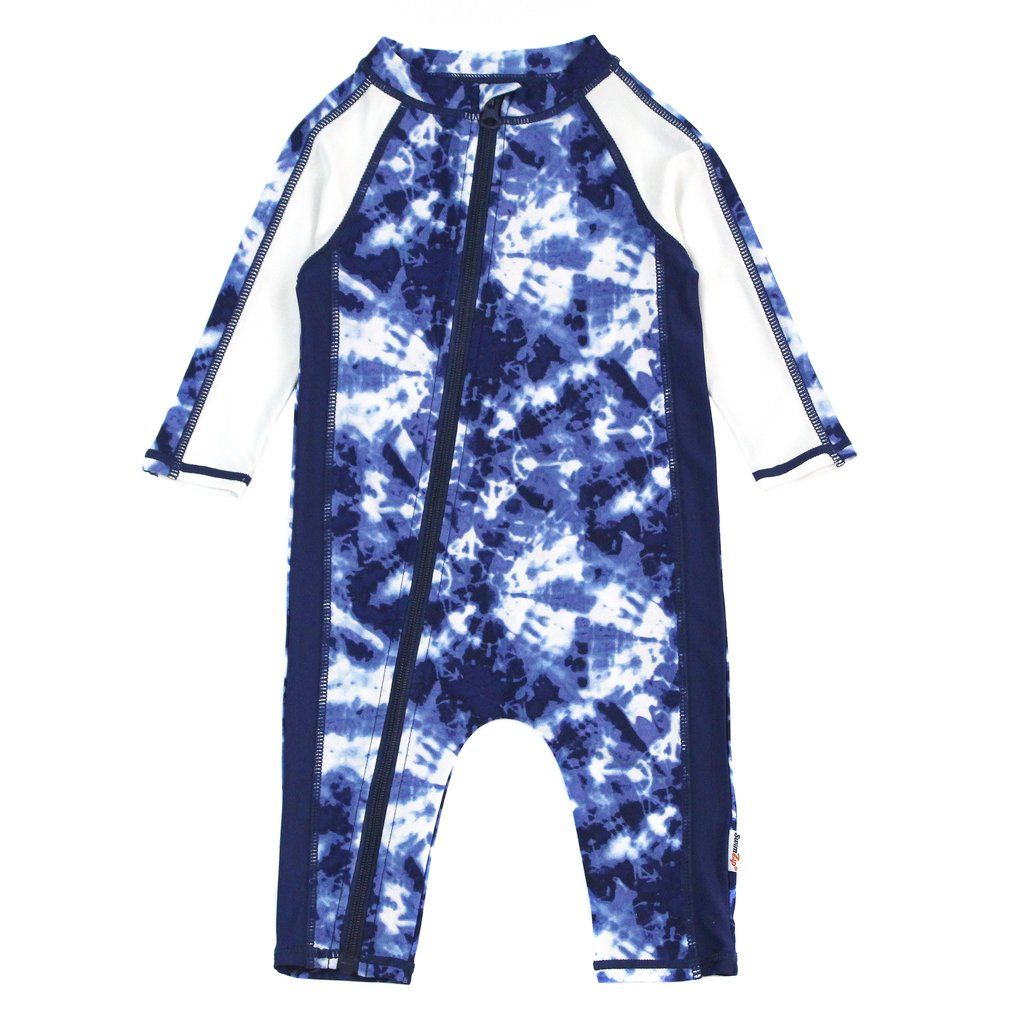 4427c4e8d3 Shop Unisex Long Sleeve Sunsuit Romper Swimsuit with UPF 50+ UV Sun  Protection