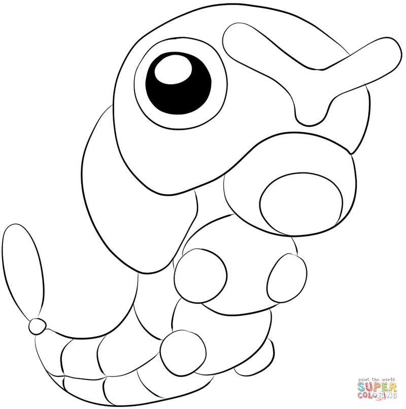 프린트 학습지 포켓몬 색칠공부 네이버 블로그 슈링클스