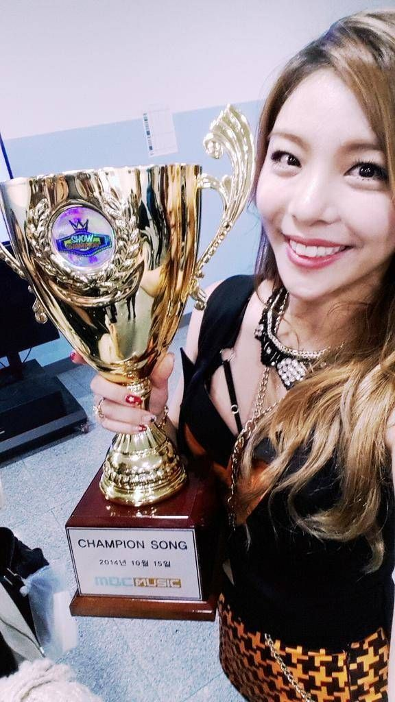 Ailee Wins On Show Champion With Don T Touch Me Ailee Korean Music Legendary Singers