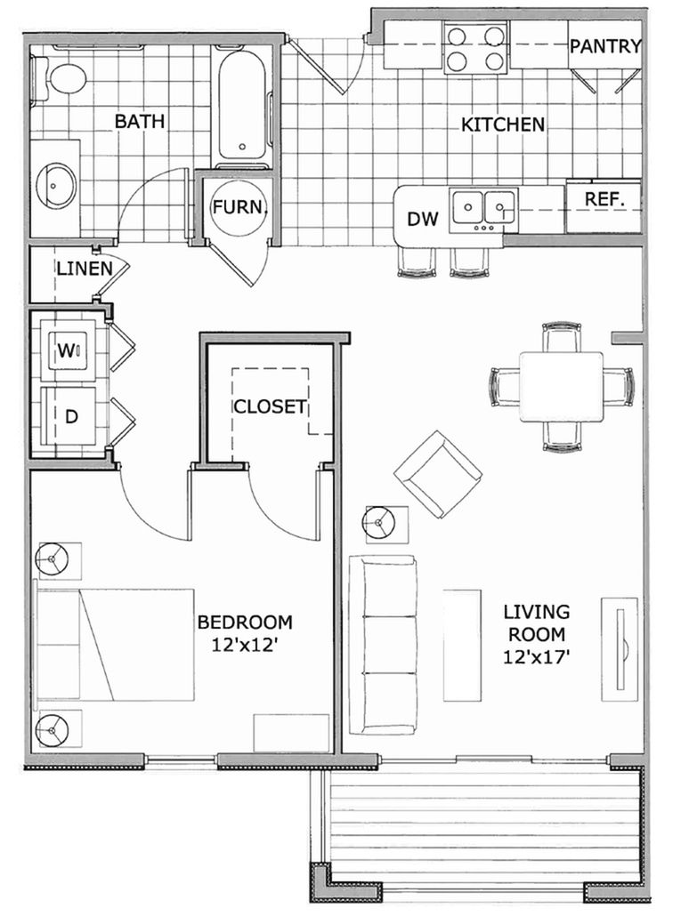 Great Photo Of 1 Bedroom Apartment Floor Plan Apartment Floor Plan 1 Bedroom Apartment Apartment Floor Plans