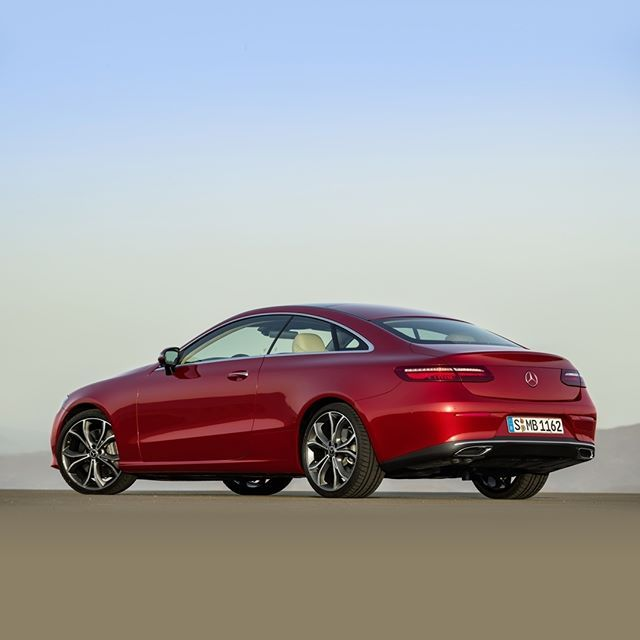 Proportions of the new #EClass #Coupé - #puristic #accentuated #reduced #sensual #pure #design | #MercedesBenz #ECoupe