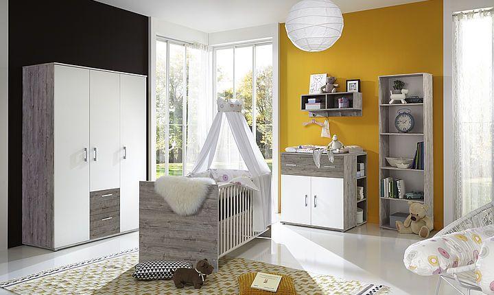 Babyzimmer #Franzi bietet alles was das #Baby benötigt. Ein ...