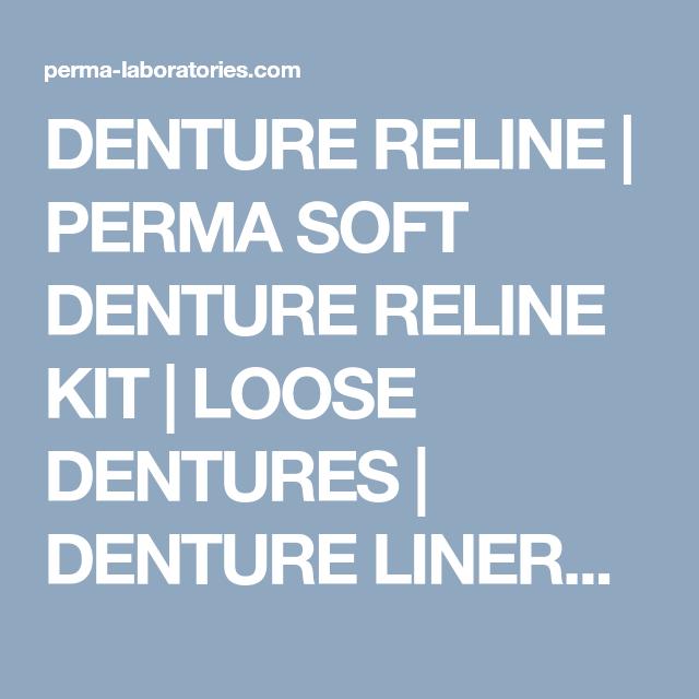Denture reline perma soft denture reline kit loose dentures denture reline kit denture reline kit denture reliner kits for home use denture liners denture reline kits and home denture repair solutioingenieria Image collections