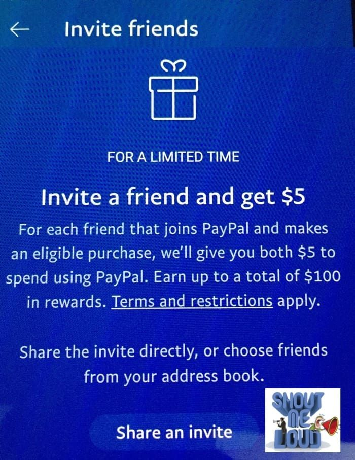 PayPal Referral Program Earn up to 100 by inviting other