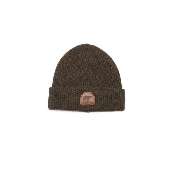 73a222769e9a6 Sorel Standish Watch Cap (700 EGP) ❤ liked on Polyvore featuring men s  fashion