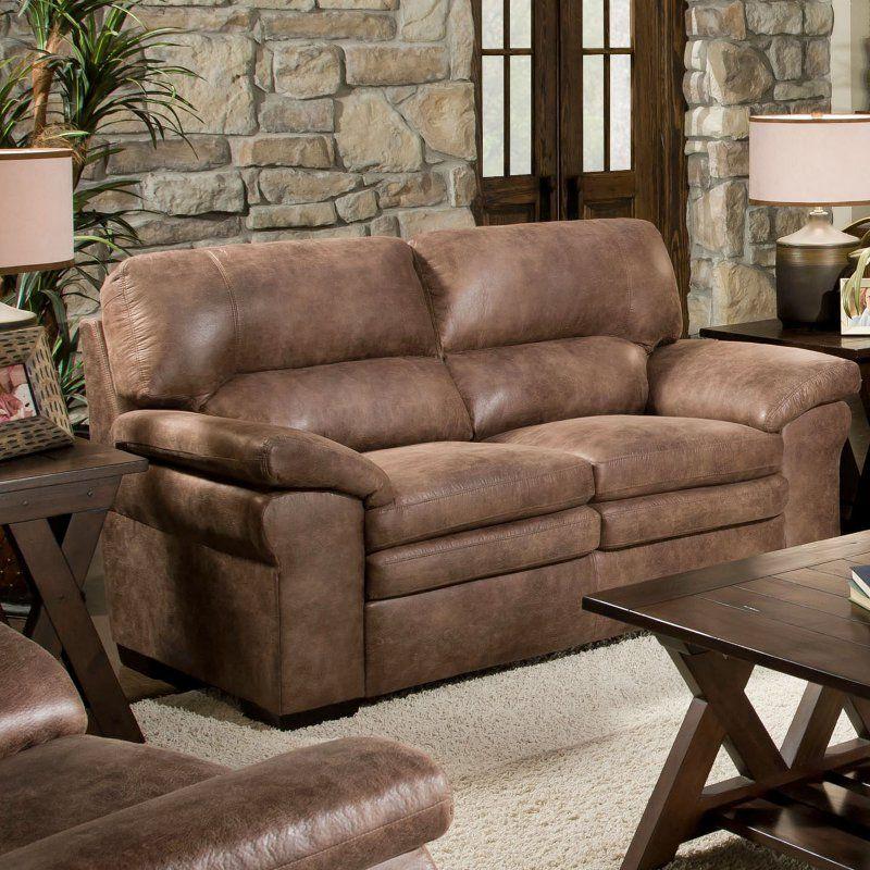 Chelsea Home Montgomery Upholstered Loveseat - 73372-10-GENS-37014