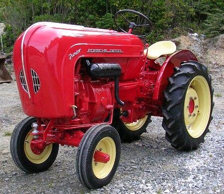 First Lamborghini Tractor