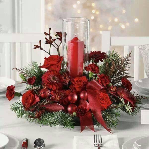 Pin de Karen Blundell en Christmas flowers Pinterest Navidad