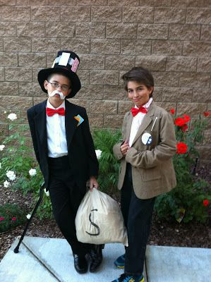 halloween costume ideas mr monopoly aka mr moneybags and doctor who