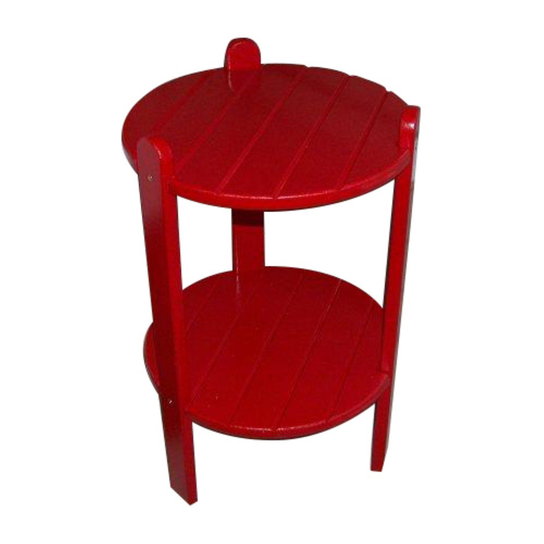 Outdoor Prairie Leisure 24 in. Adirondack Cottage Side Table - 76-UNFINISHED