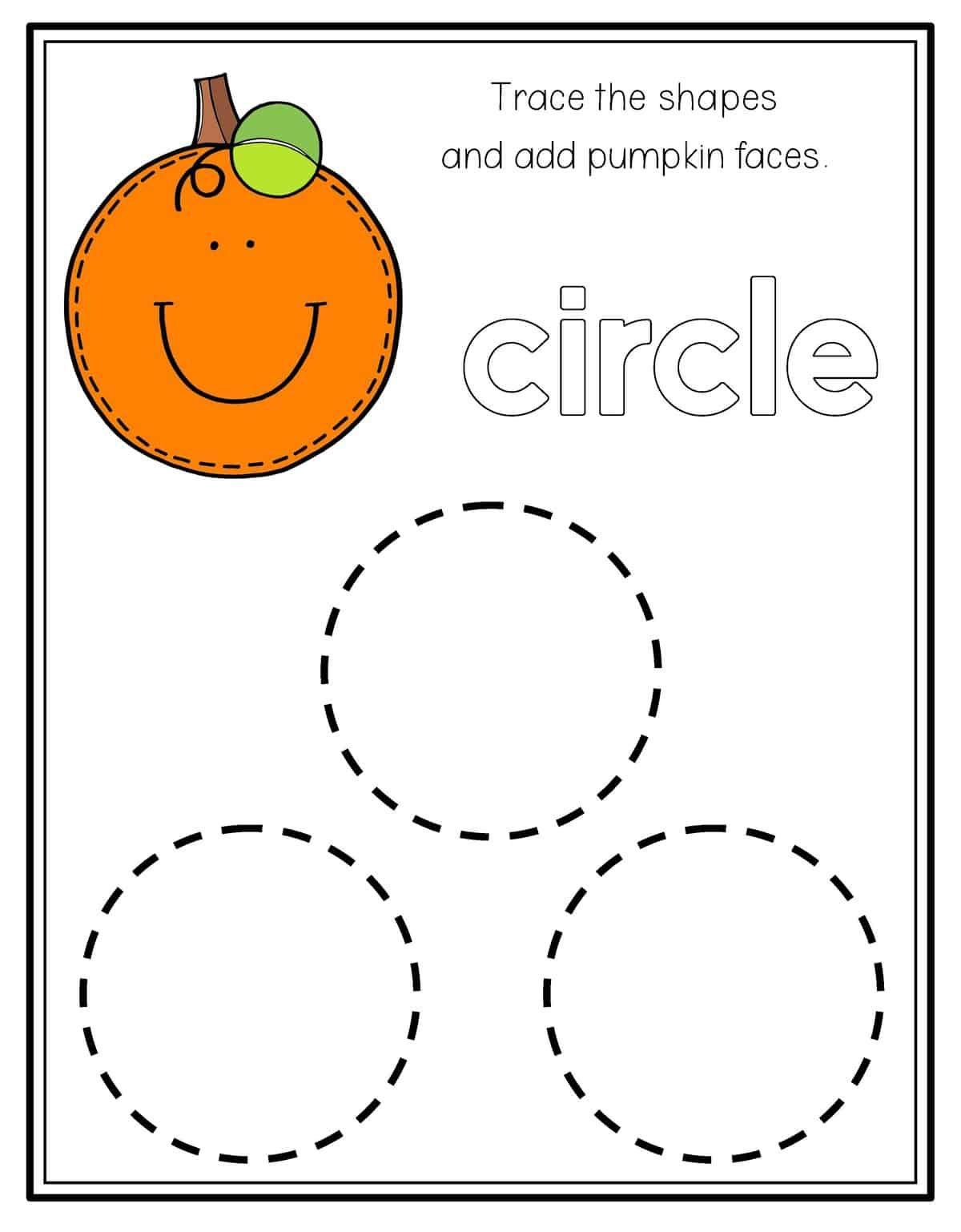 Pumpkin Shape Tracing Preschool Mom Preschool Worksheets Tracing Worksheets Preschool Shapes Worksheets [ 1538 x 1200 Pixel ]