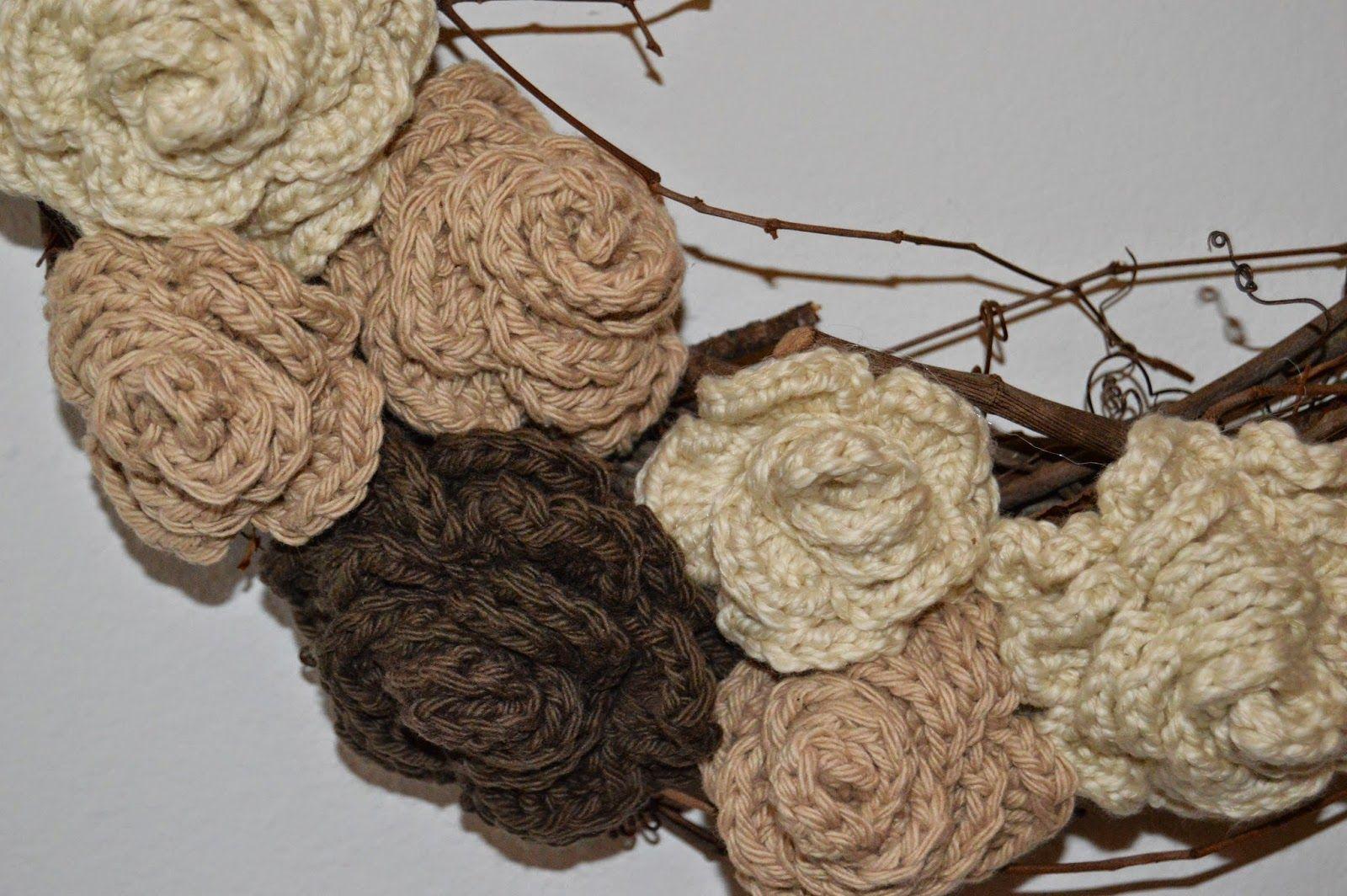 Rubia Rubita: Rosa de Crochê   Rubia Rubita - Blog   Pinterest