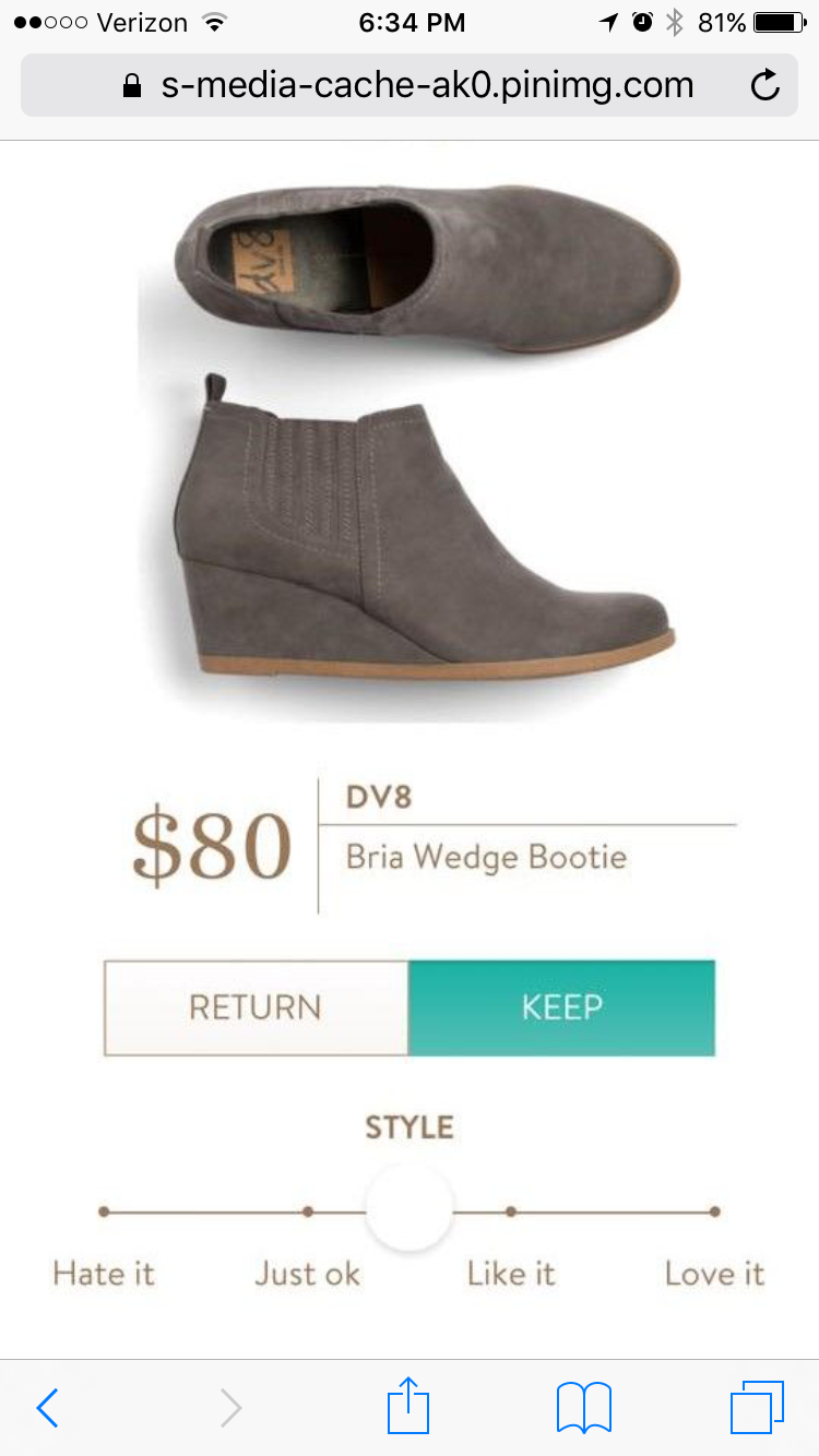 9c903bb2810a DV8 Bria Wedge Bootie stitchfix.com referral 5939587
