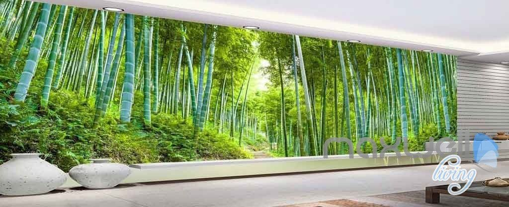3d Bamboo Forest Entire Room Wallpaper Wall Mural Art Prints Idcqw