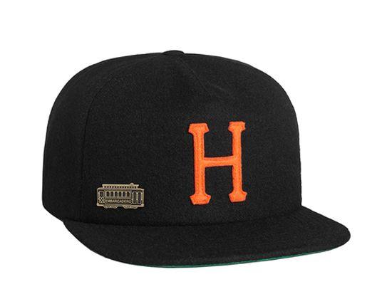 5cd245c609f Home Field Wool Strapback Cap by HUF
