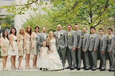 Mismatch Bridesmaids Dresses Guys Are Wearing Same Exact
