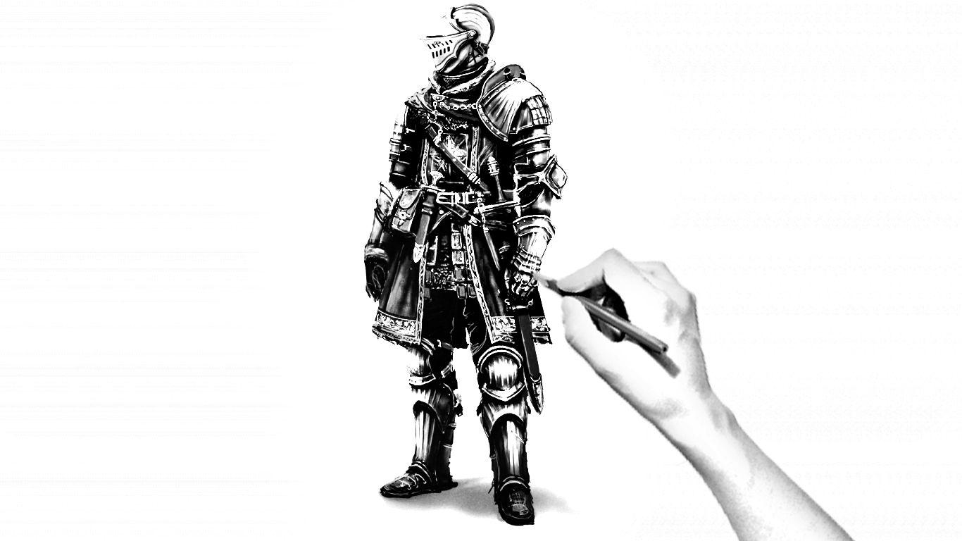 Knight Drawn
