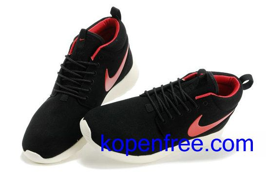 low priced e6fec c3b6c Kopen goedkope heren Nike Roshe Run Schoenen (kleur vamp-zwart,binnenkant,