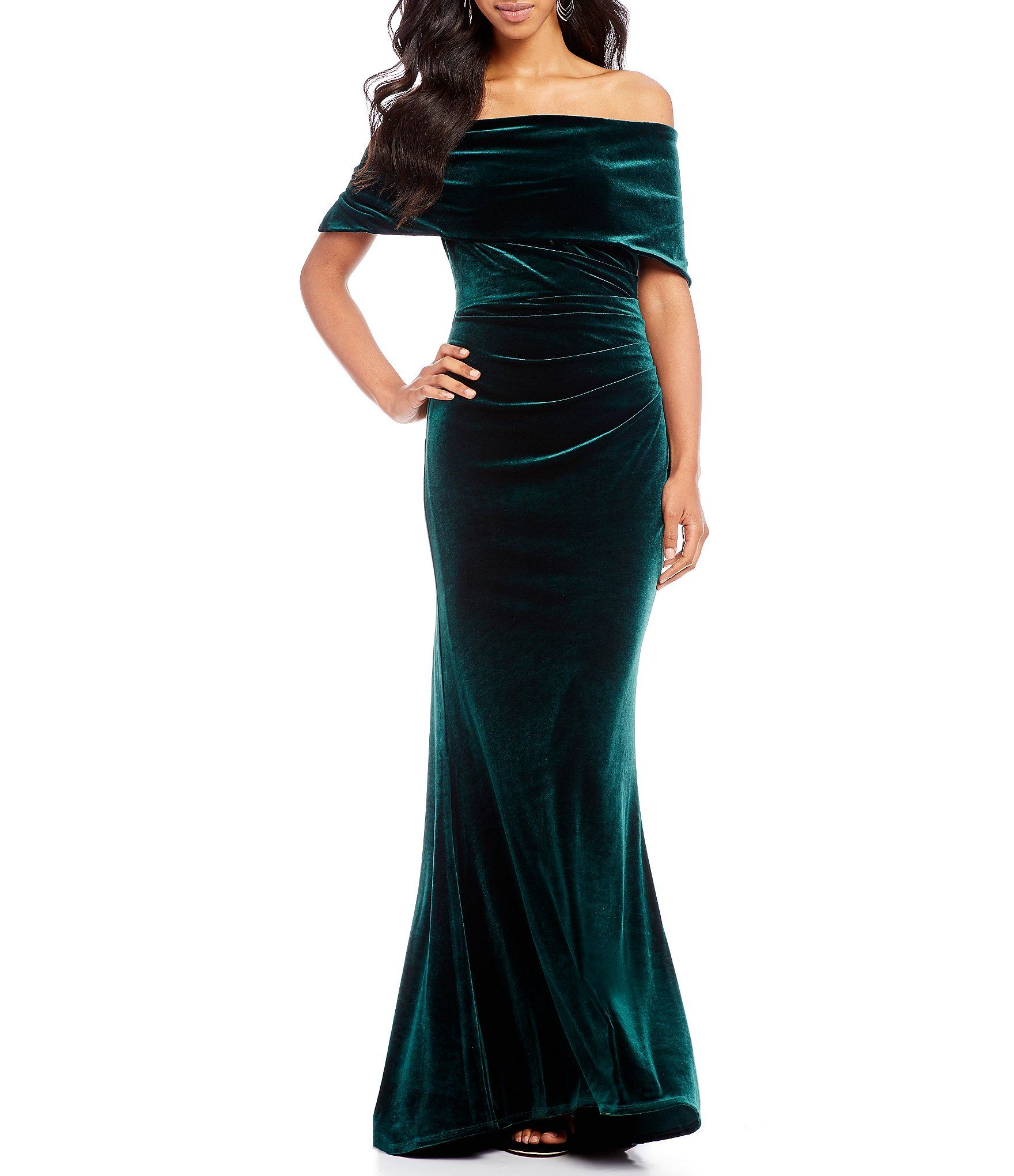 29d79dfd284 Shop for Vince Camuto Off the Shoulder Velvet Gown at Dillards.com. Visit  Dillards.com to find clothing