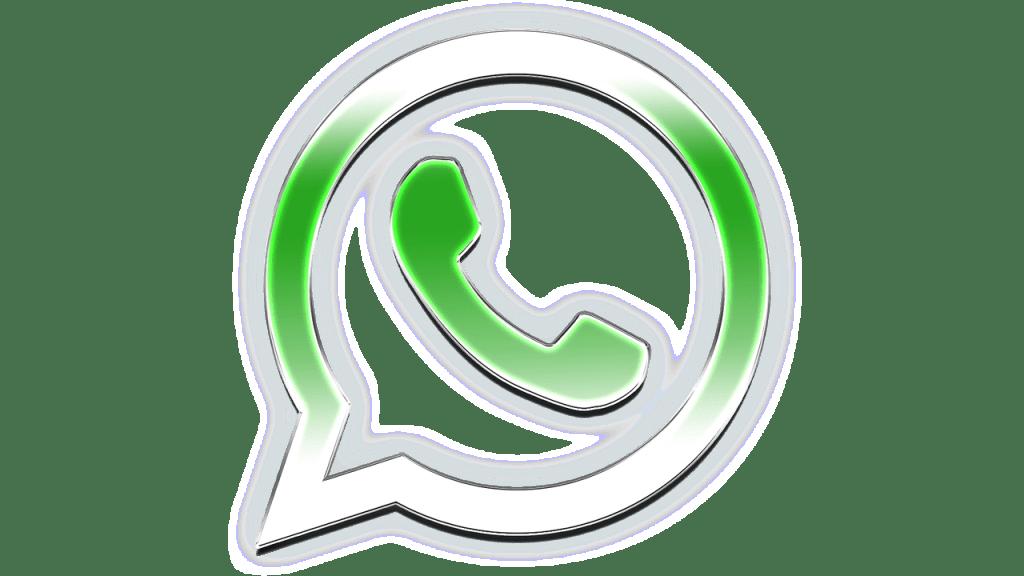Logo do WhatsApp PNG [Fundo Transparente e com Fundo] em