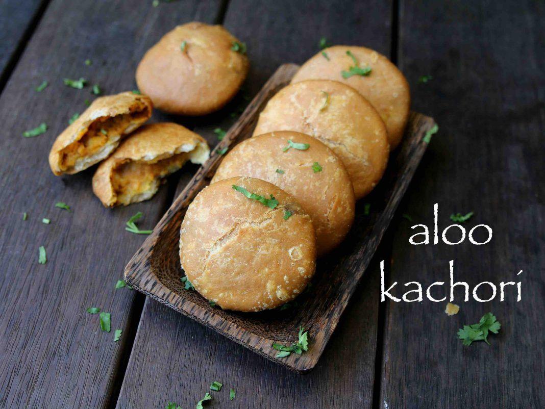 aloo kachori recipe aloo ki kachori recipe potato stuffed kachori recipe food recipes on hebbar s kitchen kachori id=77259