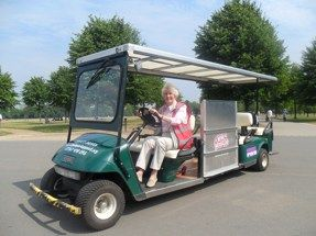 Liberty Drives! Free of charge wheelchair accessible tour of Hyde Park & Kensington Gardens in an electric vehicle.