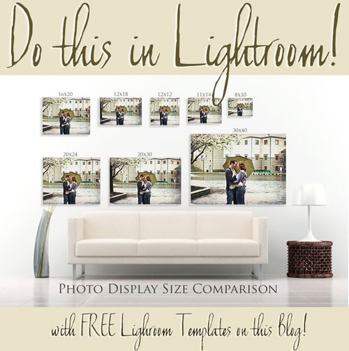 Get Over 200 Free Lightroom Print Templates Here Photo