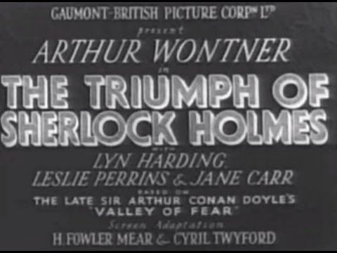 Watch The Triumph of Sherlock Holmes Full-Movie Streaming