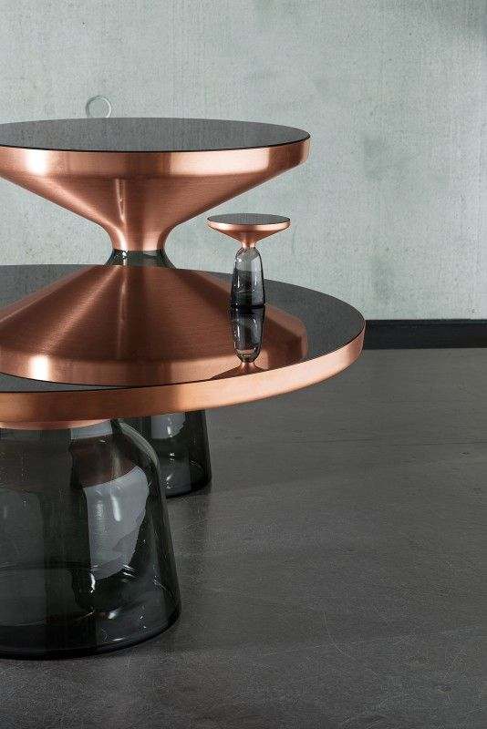 Bell Table Side Table Copper - Classicon EN