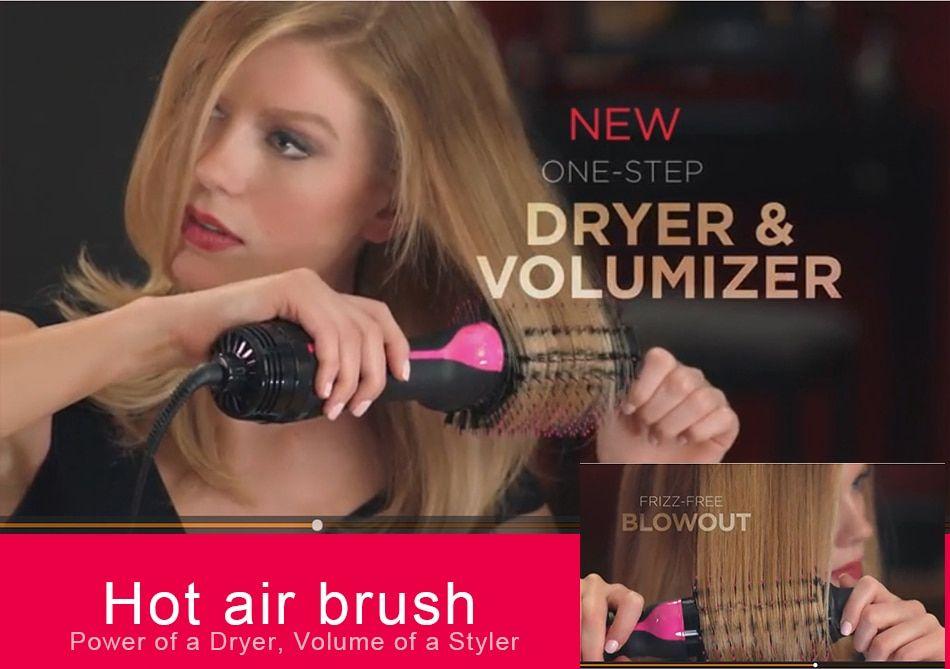 2 in 1 Multifunctional Hair Dryer Volumizer Rotating Hot