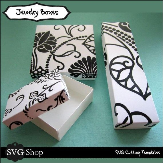 Cricut Download Jewelry Boxes Jewelry Packaging Box Gifts
