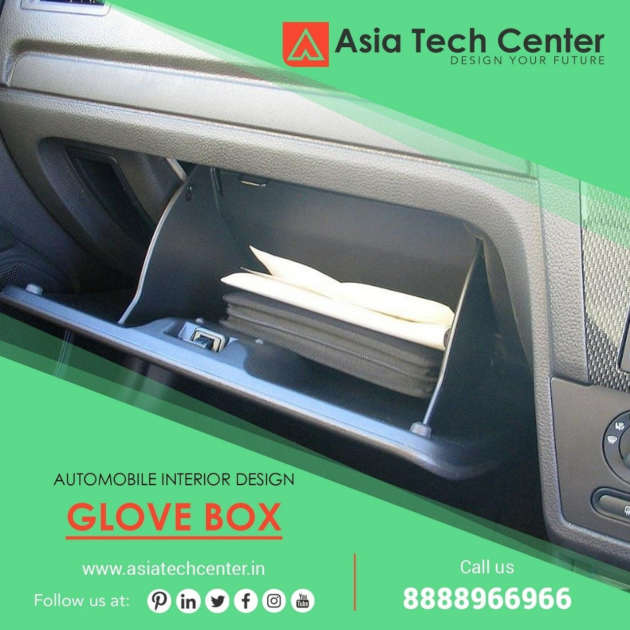 A glove compartment or glovebox or glovie is a compartment