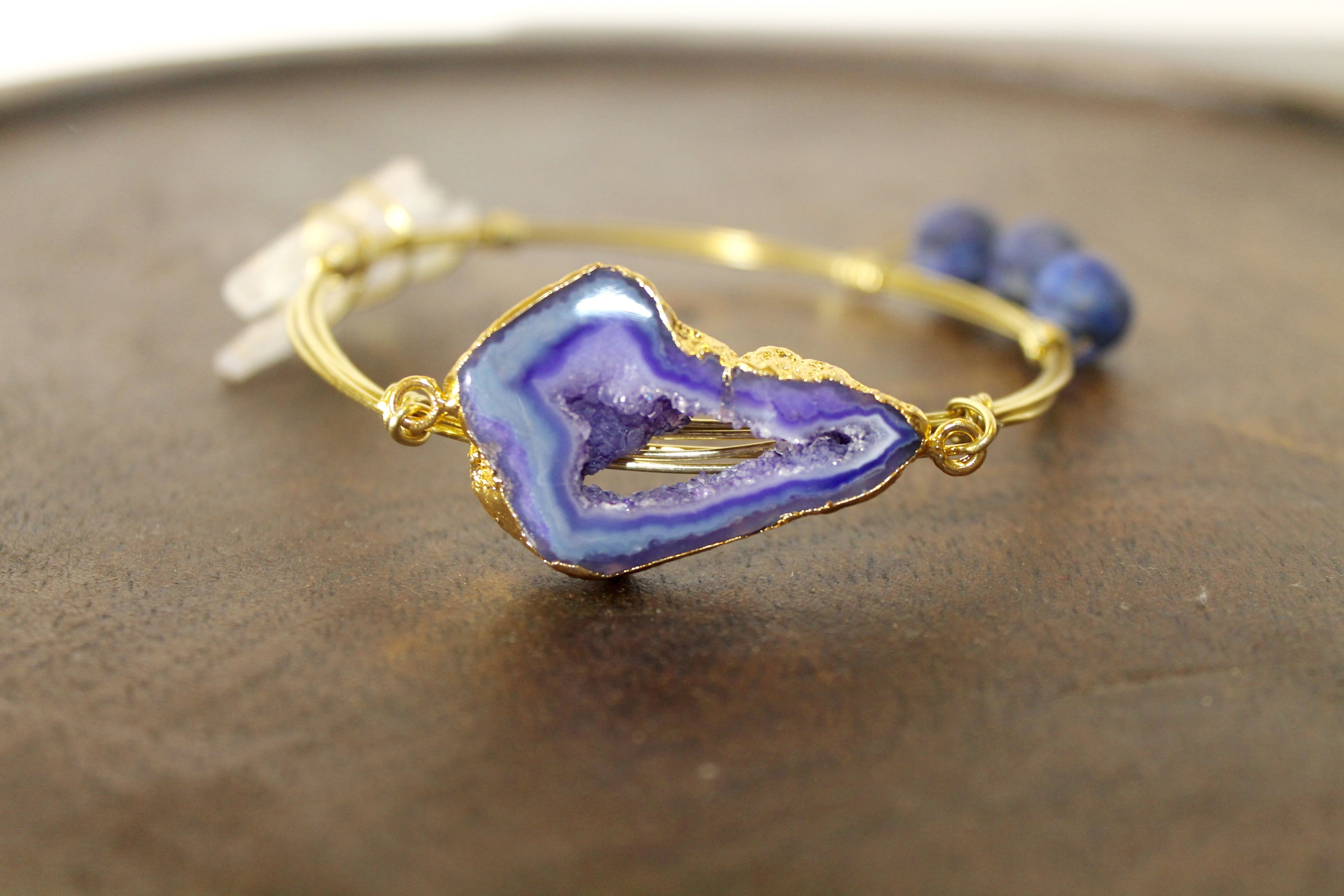 The Lila, wire bangles by Heatherly