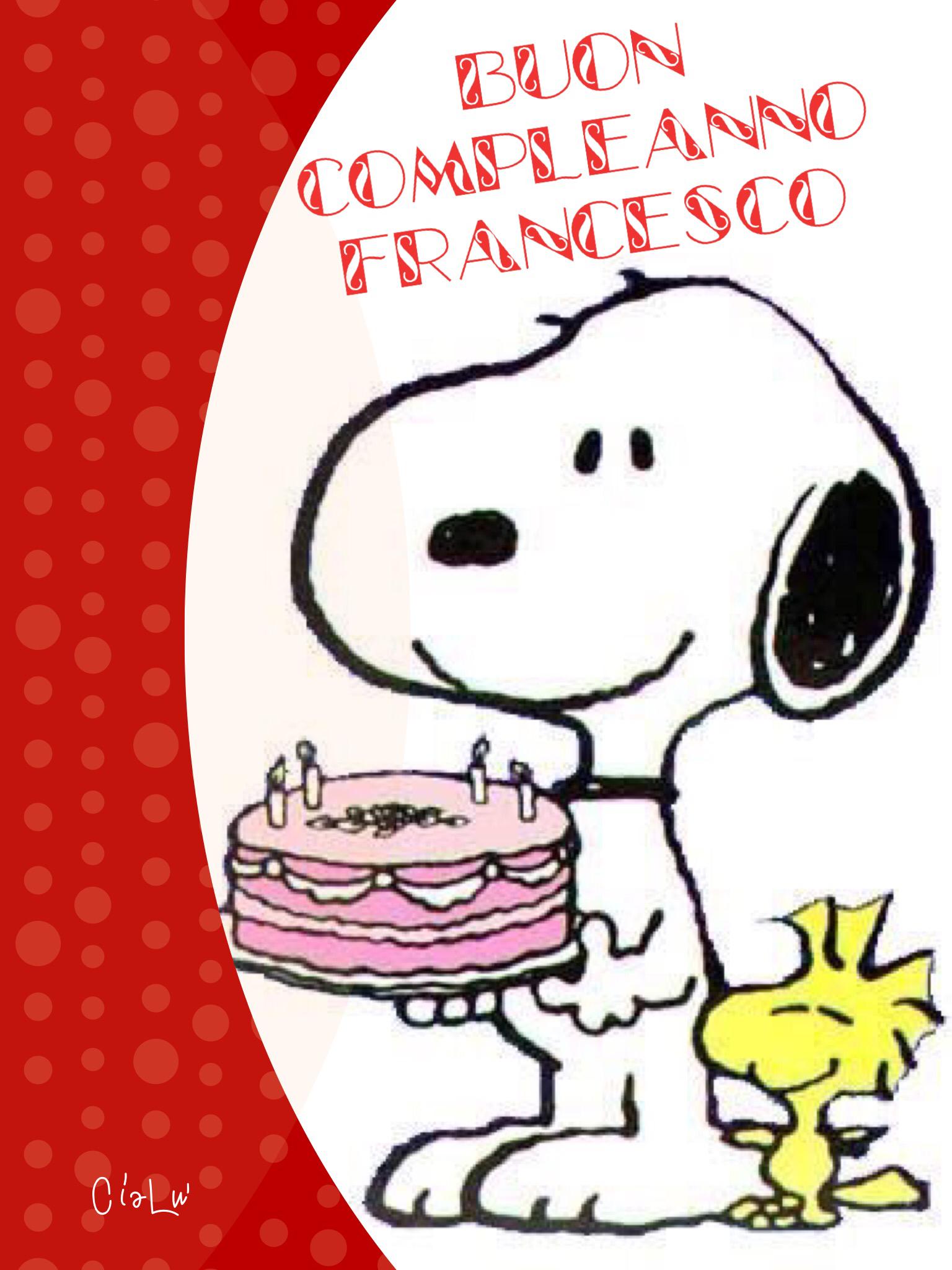 Compleanno Francesco   Compleanni Onomastici e Anniversari