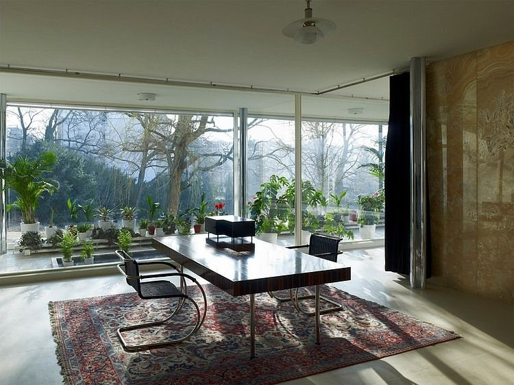 Villa Mies Der Rohe villa tugendhat interior by ludwig mies der rohe is one of the