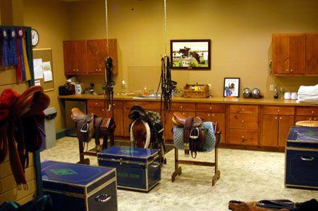 Horse Barn Tack Room