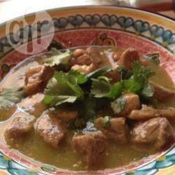 Foto de la receta: Carne de cerdo en salsa verde