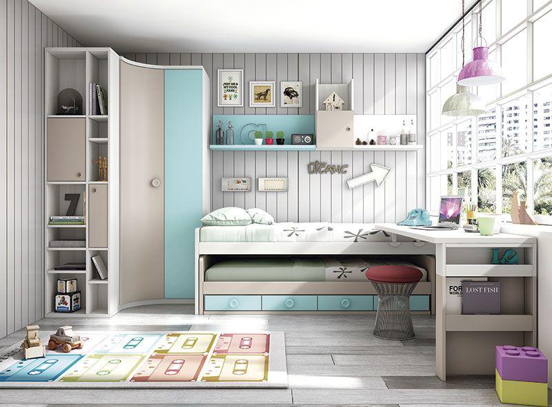 Mymobel dormitorios juveniles modelo dormitorio juvenil - Decoracion habitacion individual ...
