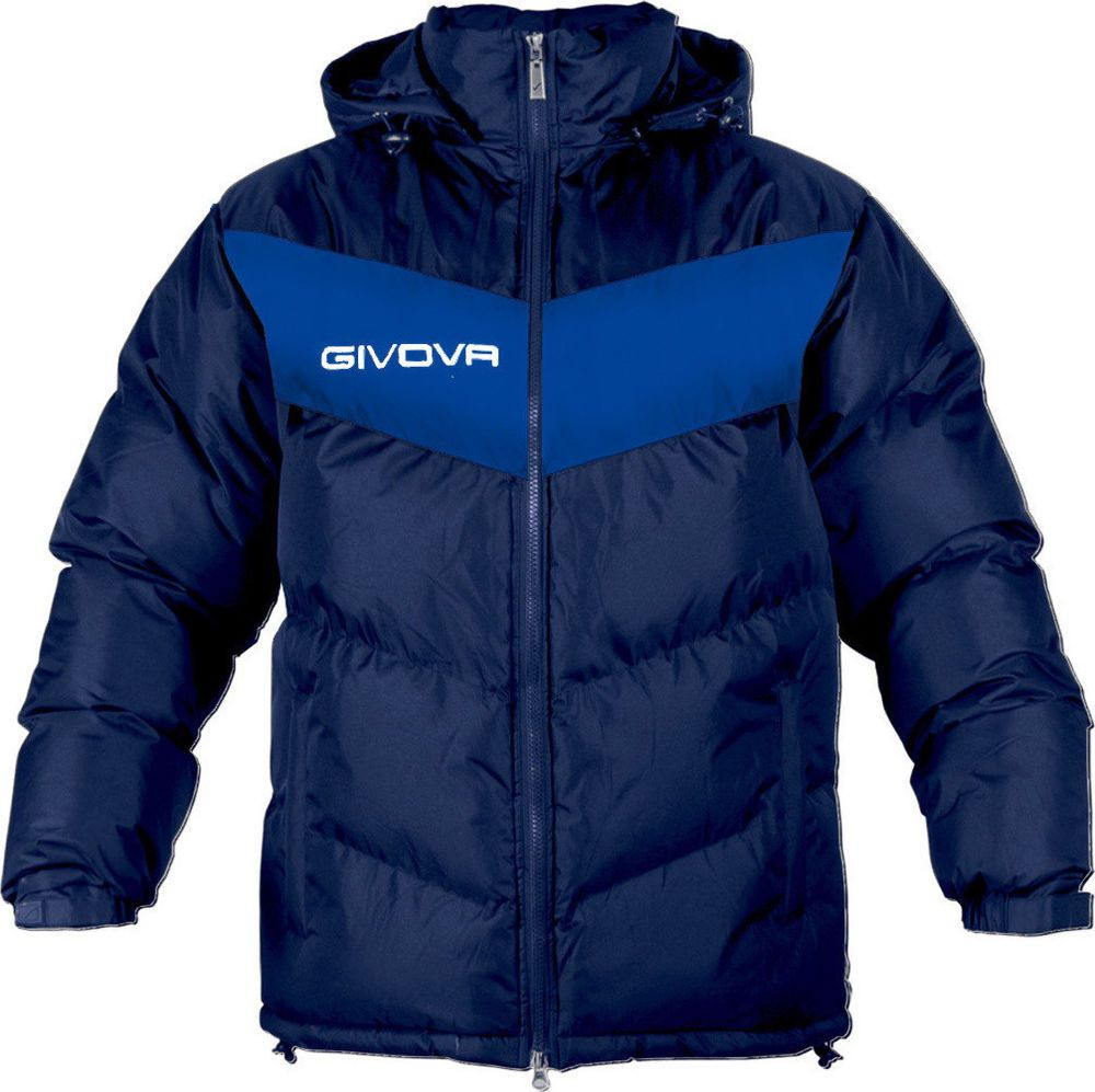 Givova Podio Winter Jacket Mens New Jacket Blue All Sizes Sports Fashion Soccer Ginova Basicjacket Winter Jackets Mens Jackets Sport Fashion [ 997 x 1000 Pixel ]