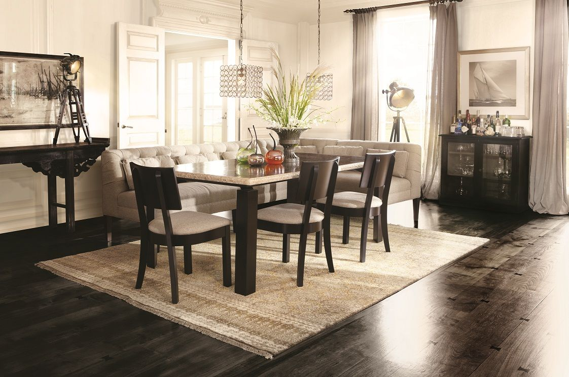 Wrap Around Bench Kitchen Table Wrap Around Seating At The Dinner Table The Eaton Banquette With